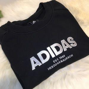 Adidas Sweatshirt Size Extra Large Black NWOT